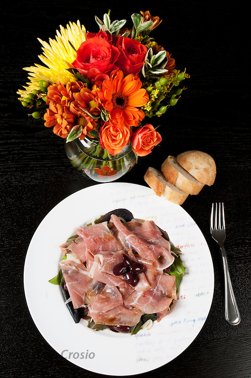 Francesca's Prosciutto and Fennel Salad // www.florastable.com
