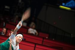 25.10.2018, Wiener Stadthalle, Wien, AUT, ATP Tour, Erste Bank Open, im Bild Kei Nishikori (JPN) // Kei Nishikori of Japan during the Erste Bank Open of ATP Tour at the Wiener Stadthalle in Wien, Austria on 2018/10/25. EXPA Pictures © 2018, PhotoCredit: EXPA/ Michael Gruber