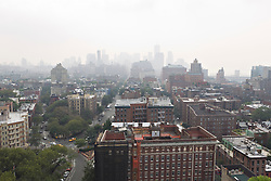 New York City from a rooftop in the village looking South