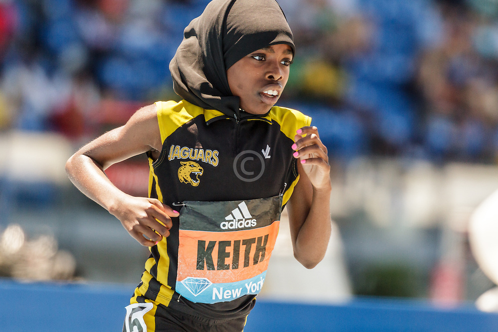 adidas Grand Prix Diamond League Track & Field: Girls Youth Mile, Jenna Keith
