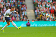 Ross Barkley of England during the UEFA European 2020 Qualifier match between England and Bulgaria at Wembley Stadium, London, England on 7 September 2019.