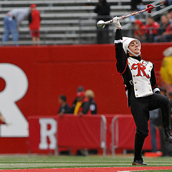 Sep 12, 2009; Piscataway, NJ, USA;  The Rutgers Marching Band Field Major take the field during ceremonies before Rutgers' 45-7 victory over Howard in NCAA College Football at Rutgers Stadium.