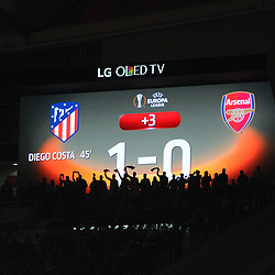 Atletico de Madrid v Arsenal, Europa League, 3 May 2018