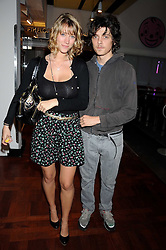 FENTON BAILEY and SISSY BEST  at a party to celebrate the launch of Billionaire Boys Club Ice Cream Season 7 at Harvey Nichols, Knightsbridge, London on 18th June 2008.<br />