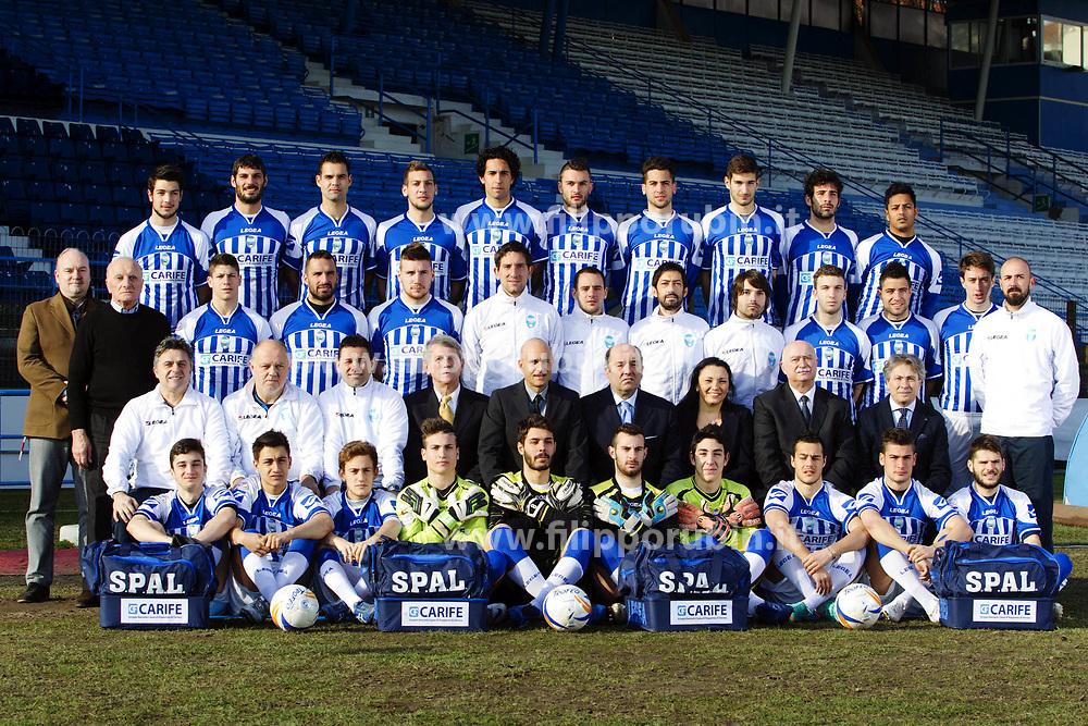 FOTO DI SQUADRA REAL SPAL 2012-2013
