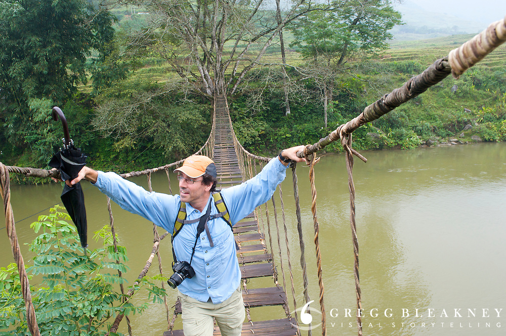 Vine Bridge Sapa - Northwest Vietnam