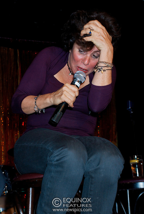 London, United Kingdom - 2 September 2009.Comedienne Ruby Wax and actresses Belinda Lang and Miriam Margolyes performing at gay bar the Royal Vauxhall Tavern, Vauxhall, London, England, UK on 2 September 2009..(photo by: EDWARD HIRST/EQUINOXFEATURES.COM).Picture Data:.Photographer: EDWARD HIRST.Copyright: ©2009 Equinox Licensing Ltd. +448700 780000.Contact: Equinox Features.Date Taken: 20090902.Time Taken: 213358+0000.www.newspics.com