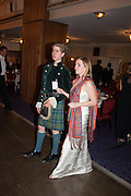 WILLLIAM FOYLE; IONA MURRAY, The Royal Caledonian Ball 2013. The Great Room, Grosvenor House. Park lane. London. 3 May 2013.
