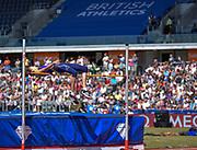 GB's Isobel Pooley clears the bar during the women's High Jump at the Sainsbury's Birmingham Grand Prix IAAF Diamond League Meeting at Alexandra Stadium, Birmingham, West Midlands, England on June  07  2015. (Steve Flynn/Image of Sport)