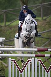 Philippaerts Olivier (BEL) - Cabrio vd Heffinck<br /> Longines Spring Classic of Flanders<br /> CSIO5 Jumping Lummen 2014<br /> © Dirk Caremans