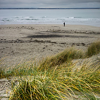 Rural sea view at West Wittering in West Sussex, England