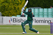 Stuart Broad drives during the Royal London 1 Day Cup match between Worcestershire County Cricket Club and Nottinghamshire County Cricket Club at New Road, Worcester, United Kingdom on 27 April 2017. Photo by Simon Trafford.