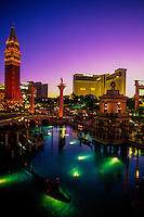 The Venetian Resort Hotel Casino (The Mirage in back), Las Vegas Boulevard, Las Vegas, Nevada