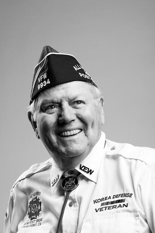Maurice N. Hansen<br /> Navy<br /> E-5<br /> Radioman<br /> 1951 - 1955<br /> Korea<br /> <br /> Veterans Portrait Project<br /> St. Louis, MO
