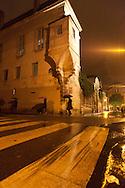 rue des francs bourgeois Paris , le marais , under the rain at night  /// paris sous la pluie, le marais  la nuit