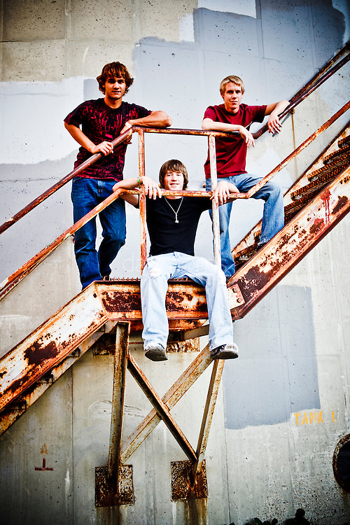 Sam, Bruce and Joe, he main characters in the documentary film Sons of Perditon