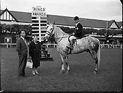 The McMahon Family and Duft at the R.D.S. Horse Show..06.05.1960