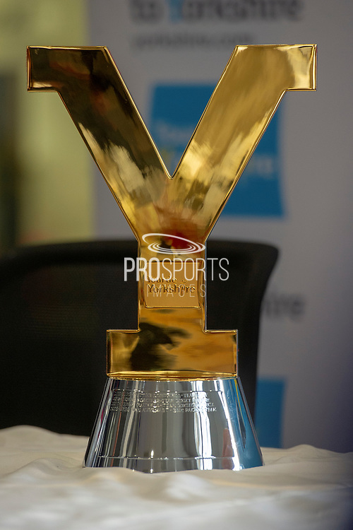 The Tour De Yorkshire mens trophy during stage four of the Tour de Yorkshire from Halifax to Leeds, , United Kingdom on 4 May 2019.