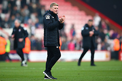 Bournemouth Manager Eddie Howe applauds the fans following their win - Mandatory by-line: Jason Brown/JMP - Mobile 07966 386802 12/03/2016 - SPORT - FOOTBALL - Bournemouth, Vitality Stadium - AFC Bournemouth v Swansea City - Barclays Premier League