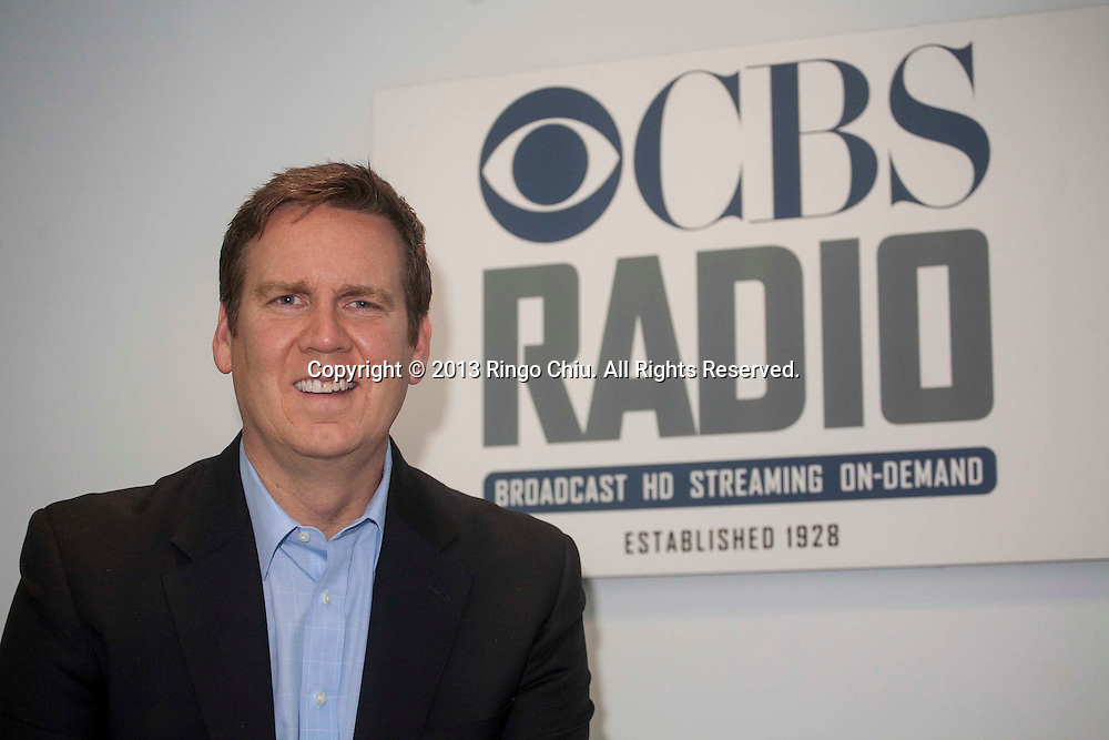 Dan Kearney, market manager for CBS Radio in Los Angeles. (Photo by Ringo Chiu/PHOTOFORMULA.com)