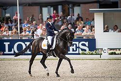 Scholtens Emmelie, NED, Indian Rock<br /> World ChampionshipsYoung Dressage Horses<br /> Ermelo 2018<br /> © Hippo Foto - Dirk Caremans<br /> 04/08/2018