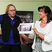 NLD/Amsterdam/20120910 - Perspresentatie toneelstuk Contrapunt, Jan Aerntzen en Janke Dekker