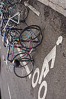 Bicycle Rack, Portland