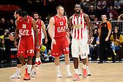 DESCRIZIONE : Milano Euroleague 2015-16 EA7 Emporio Armani Milano - Olympiacos Piraeus<br /> GIOCATORE : Patric Young<br /> CATEGORIA : composizione esultanza<br /> SQUADRA : Olympiacos Piraeus<br /> EVENTO : Euroleague 2015-2016<br /> GARA : EA7 Emporio Armani Milano - Olympiacos Piraeus<br /> DATA : 30/10/2015<br /> SPORT : Pallacanestro<br /> AUTORE : Agenzia Ciamillo-Castoria/Max.Ceretti<br /> Galleria : Euroleague 2015-2016 <br /> Fotonotizia: Milano Euroleague 2015-16 EA7 Emporio Armani Milano - Olympiacos Piraeus