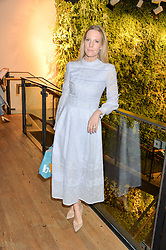 ALICE NAYLOR-LEYLAND at a party to celebrate the publication of The Naturalista by Xochi Balfour held at Anthropologie, 158 Regent Street, London on 19th April 2016.