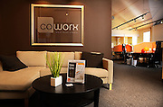 CoWorx workspace, Suite 310 Lumina Station, Wilmington, NC. Photo By:  Jeff Janowski