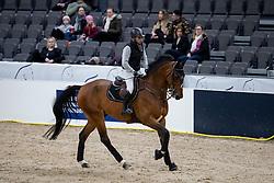 SAÏD Abdel (EGY), Jumpy van de Hermitage<br /> Göteborg - Gothenburg Horse Show 2019 <br /> Longines FEI Jumping World Cup™ Final<br /> Training Session<br /> Warm Up Springen / Showjumping<br /> Longines FEI Jumping World Cup™ Final and FEI Dressage World Cup™ Final<br /> 03. April 2019<br /> © www.sportfotos-lafrentz.de/Stefan Lafrentz