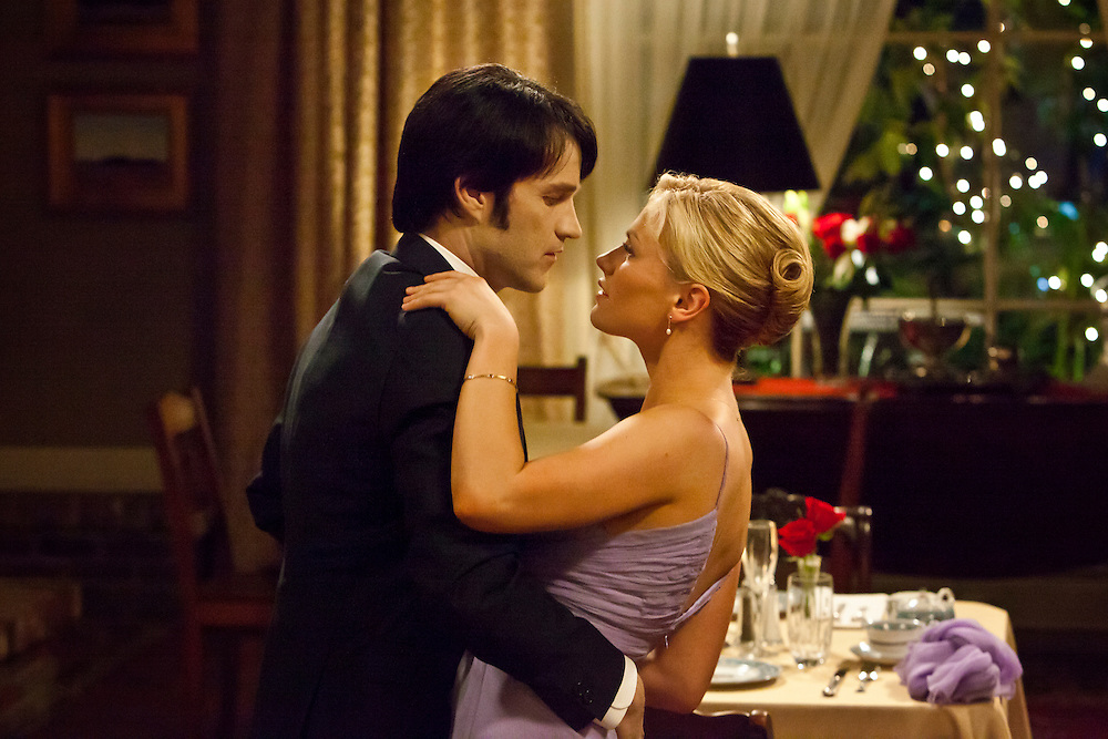 Stephen Moyer as Vampire Bill and Anna Paquin as Sookie in the Season 2 finale of HBO's 'True Blood.'