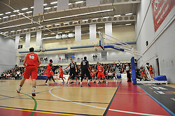 - Photo mandatory by-line: Dougie Allward/JMP - Mobile: 07966 386802 - 17/01/2015 - SPORT - Basketball - Bristol - SGS Wise Campus - Bristol Flyers v Worcester Wolves - British Basketball League
