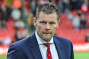 Bristol City manager Steve Cotterill during the Sky Bet Championship match between Bristol City and Leeds United at Ashton Gate, Bristol, England on 19 August 2015. Photo by Shane Healey.