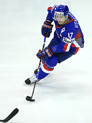 Lubomir Visnovsky at ice-hockey match Slovakia vs Norway at Preliminary Round (group C) of IIHF WC 2008 in Halifax, on May 03, 2008 in Metro Center, Halifax, Canada. (Photo by Vid Ponikvar / Sportal Images)