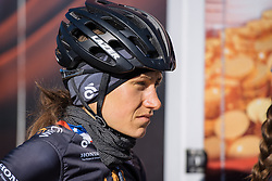 Mara Abbott (Wiggle Hi5) - Le Samyn des Dames 2016, a 113km road race from Quaregnon to Dour, on March 2, 2016 in Hainaut, Belgium.