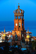 MEXICO, PACIFIC, TOURISM Puerto Vallarta; Church of Guadalupe