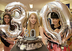 MERRION SHOPPING CENTRE TRADING  30 YEARS IN THE HEART OF DUBLIN 4 <br />CELEBRATED THEIR 30TH BIRTHDAY FRI 16TH SEPT <br />Pictured at The Merrion Centre 30th Birthday Party Celebrating were:<br />Lyn Kelly, Hannah Goff and Yomiko Chen Conway.<br />The Merrion Centre was delighted to have their 30th Birthday Party and invited all of their customers to come along and join in our celebrations on the day. The Merrion Shopping Centre chose this as an opportunity to reward and thank all of their Customers for shopping with them over the last 30years in the heart of Dublin 4.<br />Fun on the day included an Artisan Food Fair from all of their Tesco Suppliers, with Musical Entertainment, Chocolate and Ice cream surprises, Beauty make overs and demonstrations, skin & hair consultations, nutritional one to one advice, and some fantastic offers on the day from all of our 18  retail stores. They had some wonderful prizes to be won and raffle in aid of Temple Street Hospital.<br />The evening was closed off with a fantastic fashion show from Ribbon Rouge (Ribbon Rouge in The City) from their Ladies Boutique, owned by Joanne Mallon a recent addition to The Merrion Centre since March . Featuring labels such as In -Wear, Oky Coky, FCUK, Armani, Diva and many more. Fashion show also featuring a range of shoes and boots from Cinders Shoes Boutique trading 25years in the Merrion Centre.<br />The Merrion Shopping Centre who offers a boutique shopping experience in the heart of Dublin 4.  would like to thank all of our loyal customers down through the years