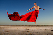 Conceptual photography capturing dance movements.<br />