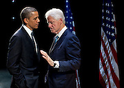 05.JUNE.2012. WASHINGTON D.C.<br /> <br /> PRESIDENT BARACK OBAMA MEETS WITH BILL CLINTON<br /> <br /> BYLINE: EDBIMAGEARCHIVE.CO.UK<br /> <br /> *THIS IMAGE IS STRICTLY FOR UK NEWSPAPERS AND MAGAZINES ONLY*<br /> *FOR WORLD WIDE SALES AND WEB USE PLEASE CONTACT EDBIMAGEARCHIVE - 0208 954 5968*