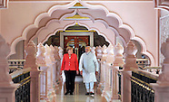 German Chancellor Merkel Visits Bangalore, India