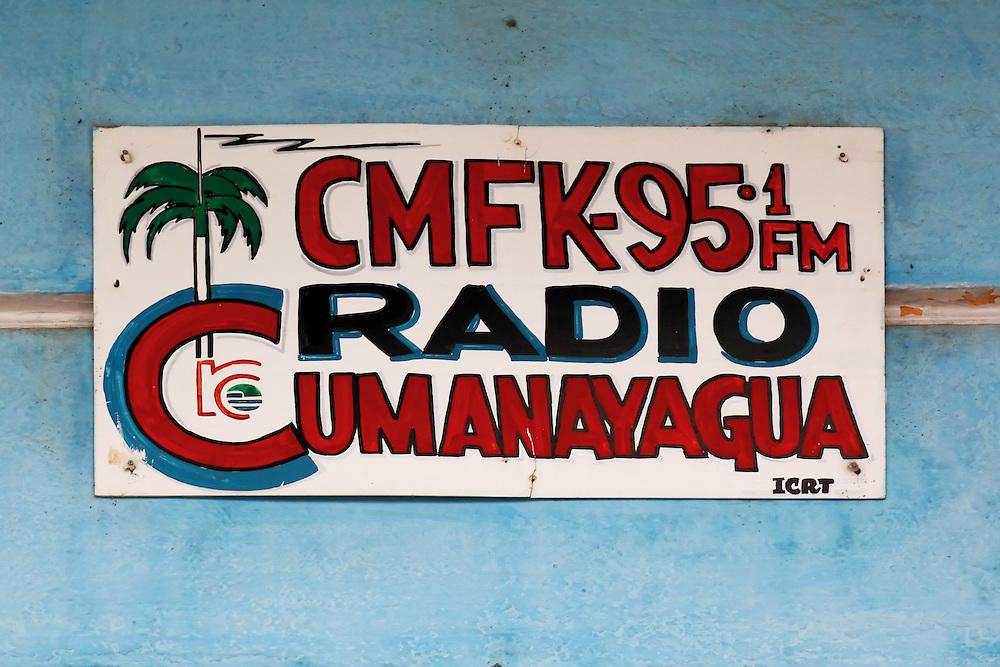 Radio station in Cumanayagua, Cienfuegos, Cuba.