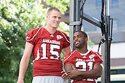 University of Arkansas Razorback Football photos during the 2009-2010 season in Fayetteville, Arkansas....©Wesley Hitt.All Rights Reserved.501-258-0920.