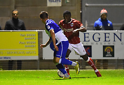 Kel Akpobire of Bristol City in action against Bristol Rovers - Mandatory by-line: Paul Knight/JMP - 16/11/2017 - FOOTBALL - Woodspring Stadium - Weston-super-Mare, England - Bristol City U23 v Bristol Rovers U23 - Central League Cup