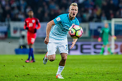 Nik Omladic of Slovenia during football match between National teams of Slovenia and England in Round #3 of FIFA World Cup Russia 2018 qualifications in Group F, on October 11, 2016 in SRC Stozice, Ljubljana, Slovenia. Photo by Grega Valancic / Sportida