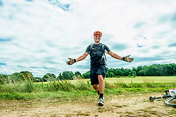 24-06-2017 NED: Training We Bike 2 Change Diabetes, Landgraaf<br /> Oefenweekend voor 15 deelnemers die in september de Tour de Mont Blanc gaan doen. Marco