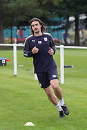Dundee&rsquo;s Jon Aurtenetxe during Dundee training at the University Grounds, Riverside, Dundee<br /> <br />  - &copy; David Young - www.davidyoungphoto.co.uk - email: davidyoungphoto@gmail.com
