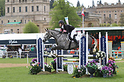 Jordan Slack on Farah  during the International Horse Trials at Chatsworth, Bakewell, United Kingdom on 11 May 2018. Picture by George Franks.