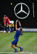 Roger Federer during the Mercedes Cup at Tennisclub Weissenhof, Stuttgart<br /> Picture by EXPA Pictures/Focus Images Ltd 07814482222<br /> 08/06/2016<br /> *** UK &amp; IRELAND ONLY ***<br /> EXPA-EIB-160608-0089.jpg