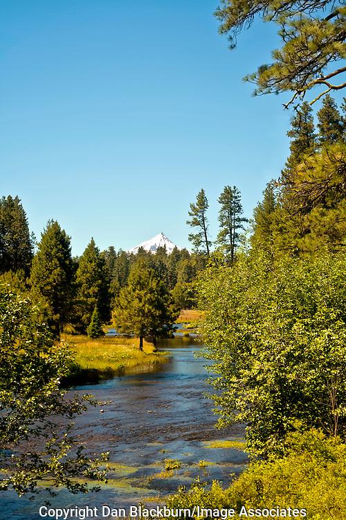 Deschutes River Oregon & Mt. Bachelor